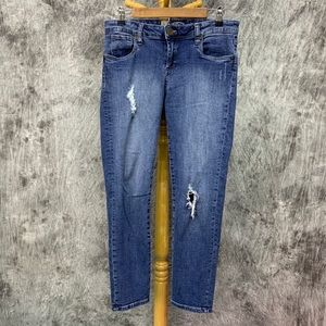 Kut from the Kloth Distressed Skinny Jeans Sz 4